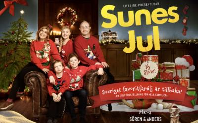 Fira jul med Sune och hans familj